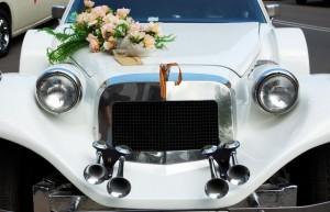 decorare masina nunta 1
