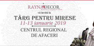 Targ pentru mirese, Timisoara 11-13 ianuarie 2019