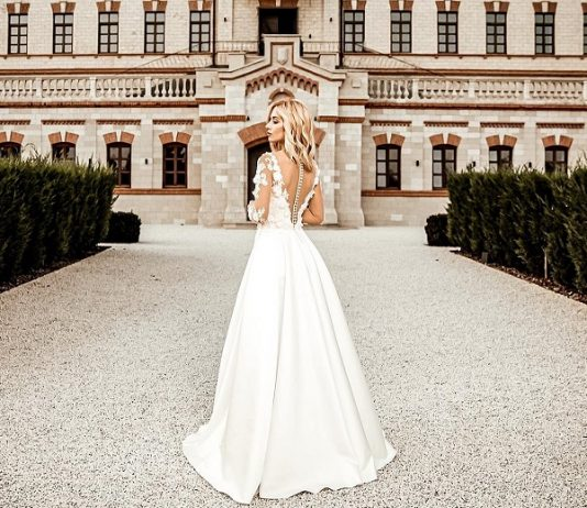 rochie de mireasa Ilette